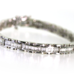 4.86 Carat Diamond and White Gold Bracelet