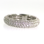 2.57 Carat Diamond Wedding Band