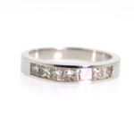 0.86 Carat Diamond Men's Wedding Band