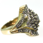 2.0 Diamond and Yellow Gold Ring – Closeout