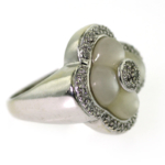 Pearl and Diamond Ring – Closeout