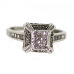 0.50 Carat Diamond Cluster Ring – Closeout