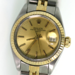 Ladies Pre-Owned 2/tone Datejust Rolex 6417