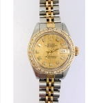 Ladies Oyster Perpetual Rolex, Date Just, Quick Set